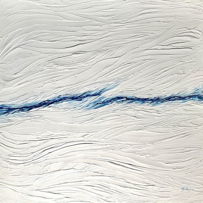 Di Nuvole e di Stelle - 2019 acrilico su tela cm 60x50
